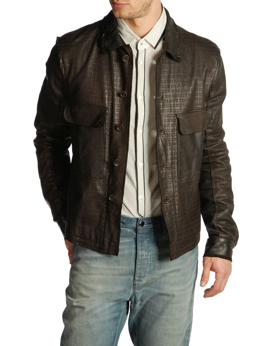 DIESEL BLACK GOLD LASKILLO Leather jackets U e