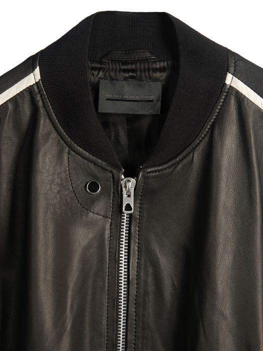 DIESEL BLACK GOLD LINSERT Leather jackets U d