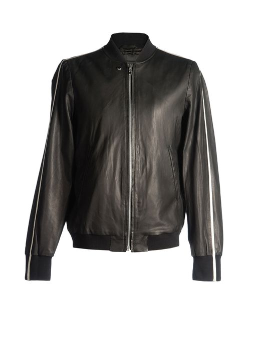 DIESEL BLACK GOLD LINSERT Leather jackets U f