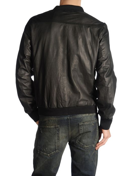 DIESEL BLACK GOLD LINSERT Leather jackets U r
