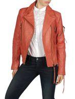 DIESEL L-NIX Leather jackets D f
