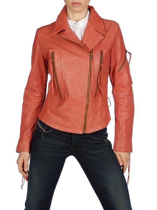 DIESEL L-NIX Leather jackets D e