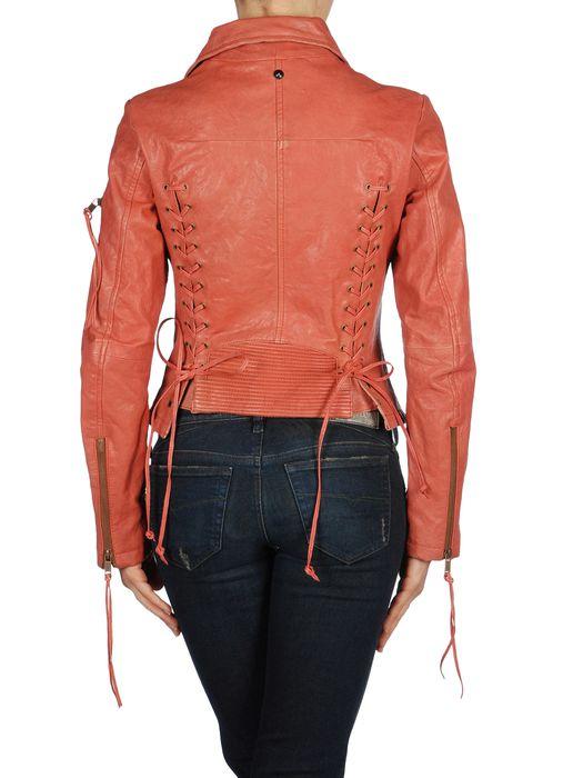 DIESEL L-NIX Leather jackets D r