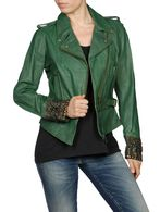 DIESEL L-PREMISE-D Leather jackets D f