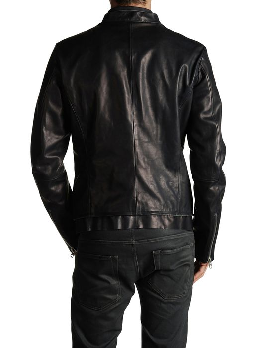 DIESEL BLACK GOLD LABRASIV Leather jackets U r