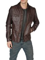 DIESEL LORDID 00WNY Leather jackets U f