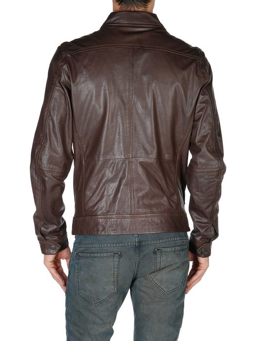 DIESEL LORDID 00WNY Leather jackets U r