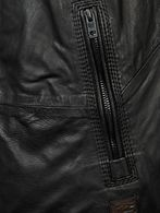 DIESEL LAGNUM Leather jackets U d