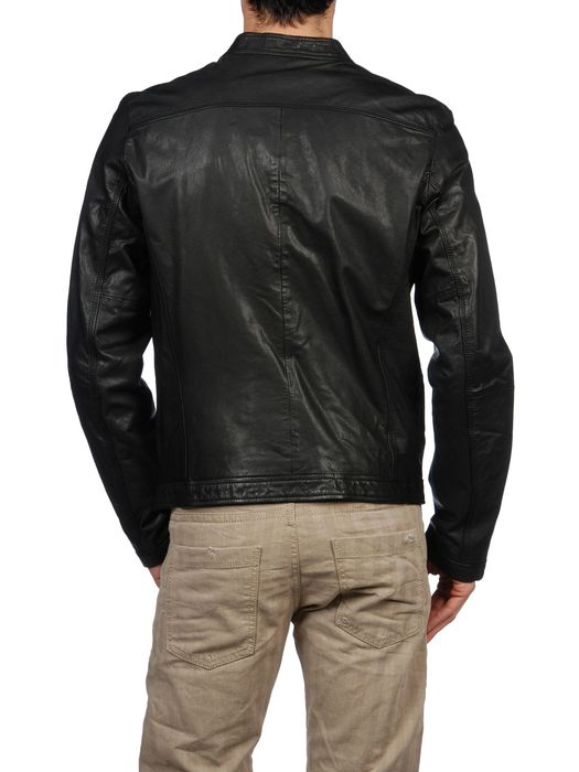 DIESEL LAGNUM Leather jackets U r