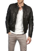 DIESEL LUMI Leather jackets U f
