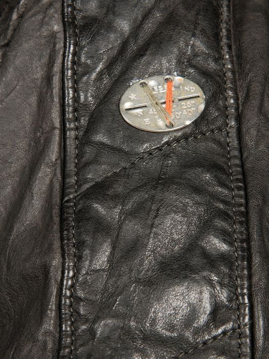 DIESEL LUMI Leather jackets U d