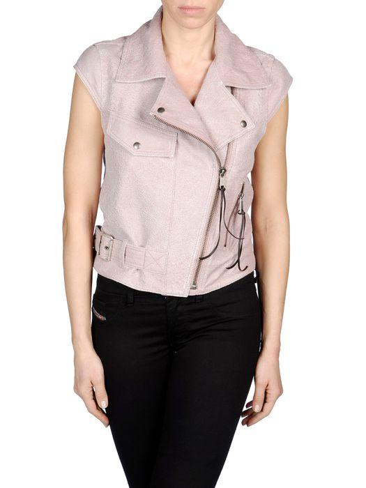 DIESEL L-KELINE Leather jackets D f