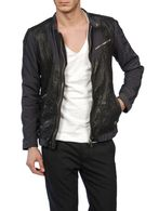 DIESEL LAREIA Leather jackets U f