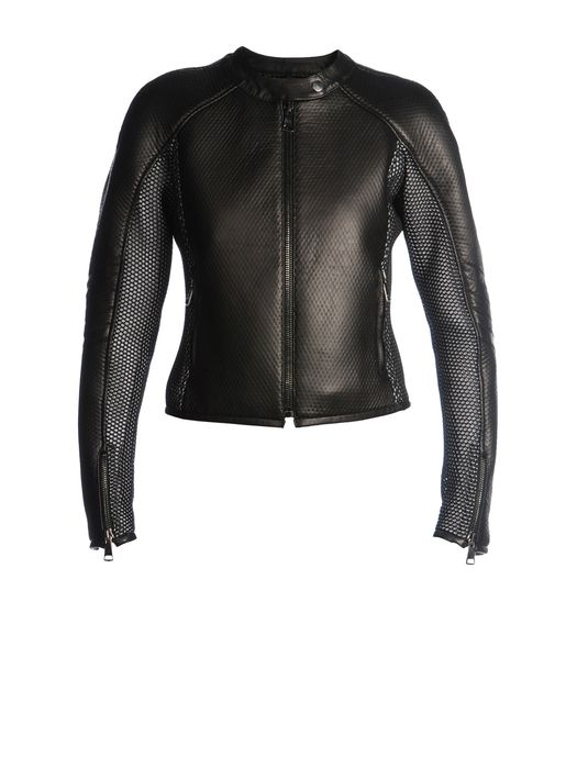 DIESEL BLACK GOLD LOHORSE Leather jackets D f