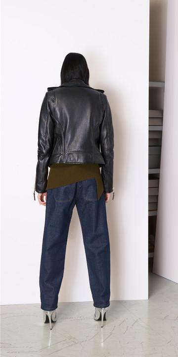 BALENCIAGA Vestes D Biker Jacket Classique f