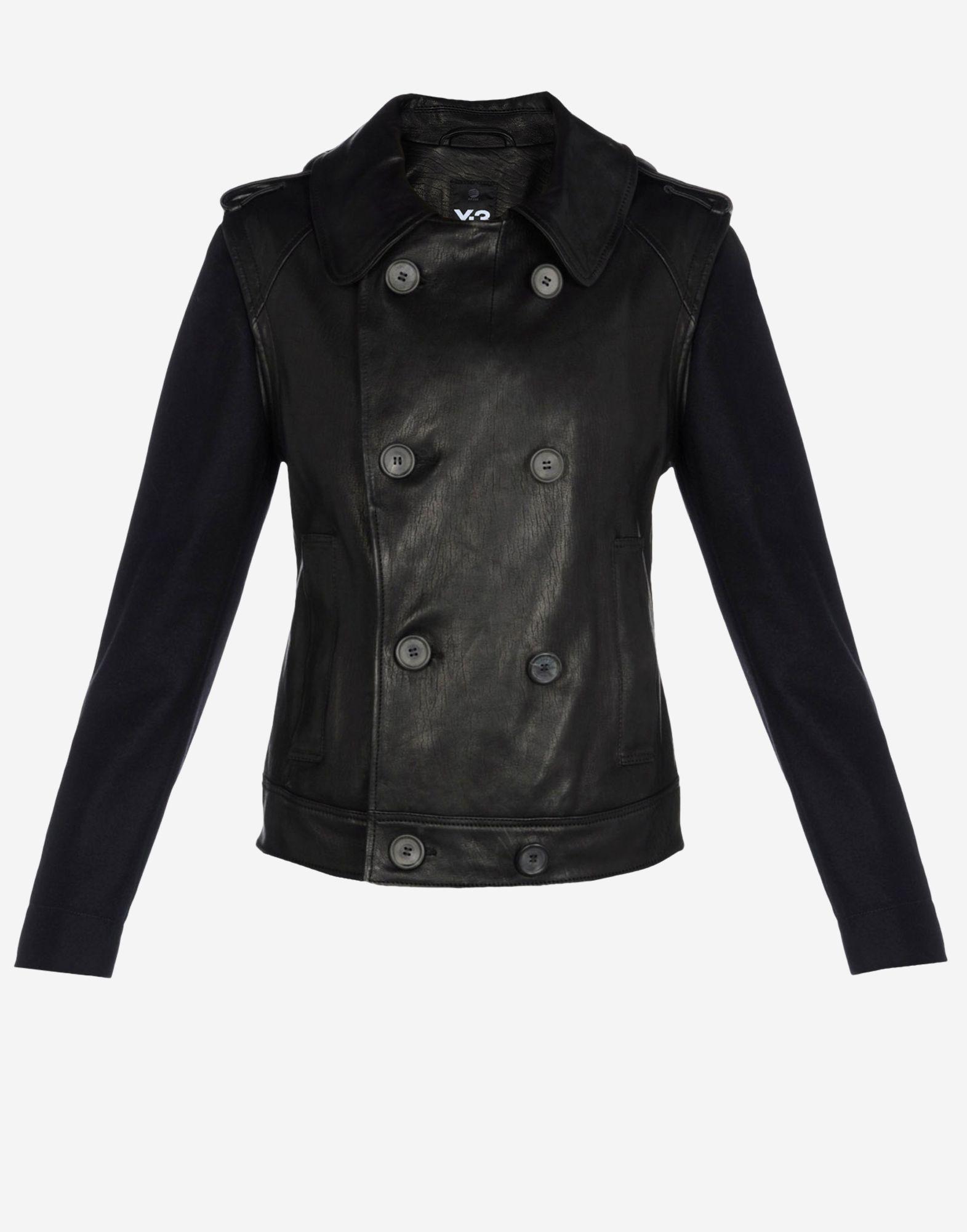 En Cuir Jacket Leather 3 Site Db Vestes Y Adidas YPqHXFwPx