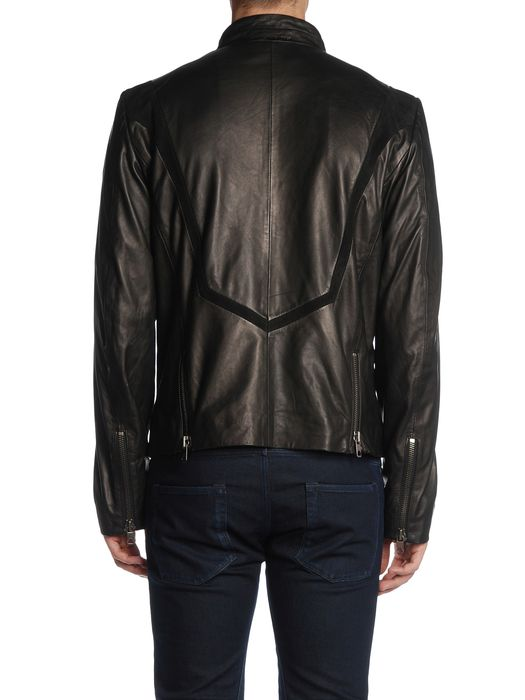 DIESEL BLACK GOLD LORDBAIRON Leather jackets U r