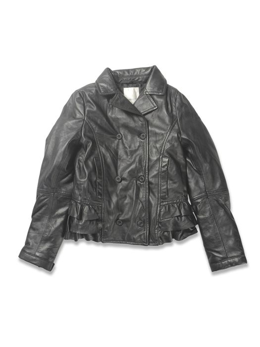 DIESEL JIFRUFRU Leather jackets D f