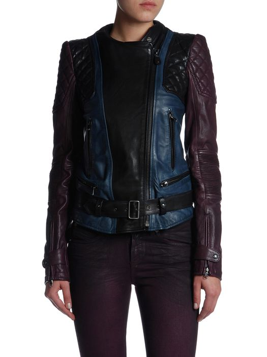 DIESEL BLACK GOLD LUKE Leather jackets D e
