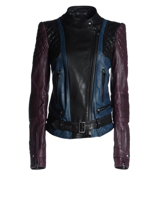 DIESEL BLACK GOLD LUKE Leather jackets D f