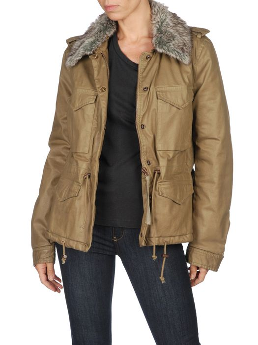 DIESEL W-RAMA Winter Jacket D f