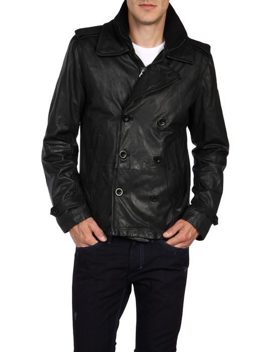 DIESEL L-KORA Leather jackets U f