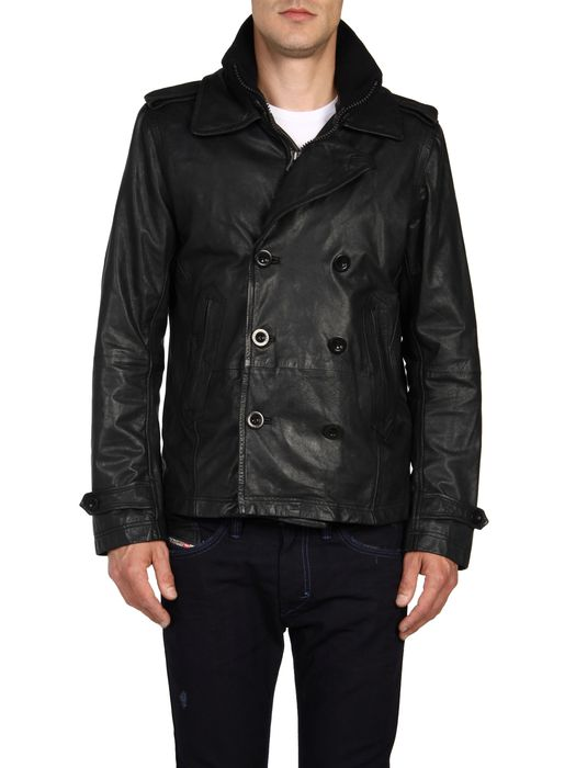 DIESEL L-KORA Leather jackets U e