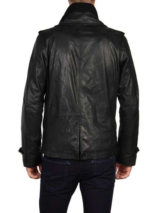 DIESEL L-KORA Leather jackets U r
