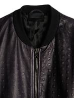 DIESEL BLACK GOLD LIPIRAM Leather jackets U d