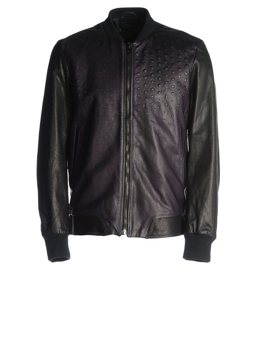 DIESEL BLACK GOLD LIPIRAM Leather jackets U f