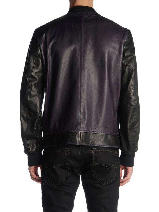 DIESEL BLACK GOLD LIPIRAM Leather jackets U r