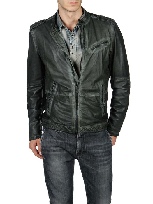 DIESEL LEPRANDIS Leather jackets U f