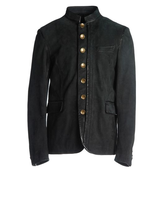 DIESEL BLACK GOLD LAFOLLY Leather jackets U f