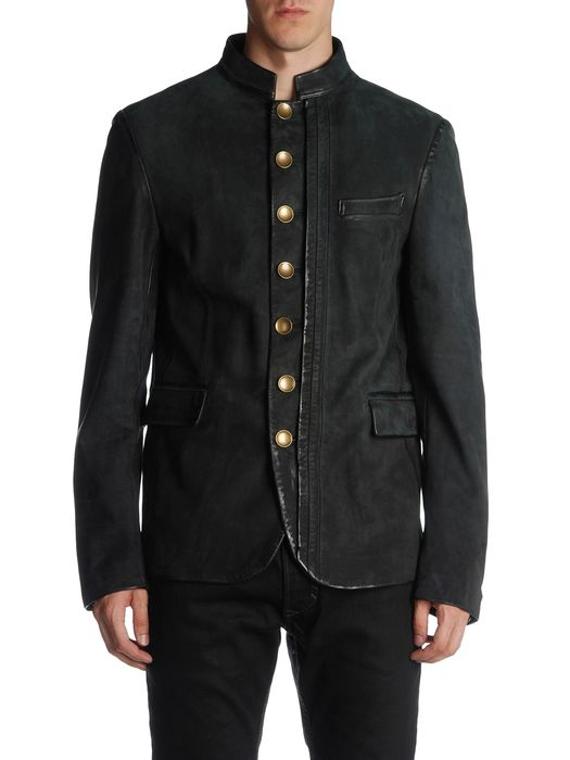 DIESEL BLACK GOLD LAFOLLY Leather jackets U e