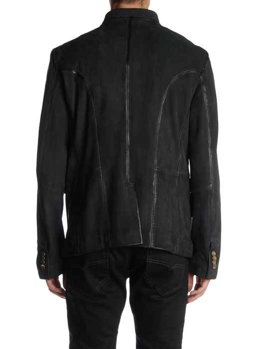 DIESEL BLACK GOLD LAFOLLY Leather jackets U r