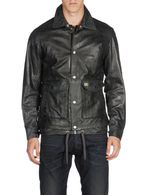 DIESEL L-TELEK Leather jackets U e