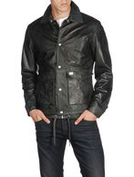 DIESEL L-TELEK Leather jackets U f