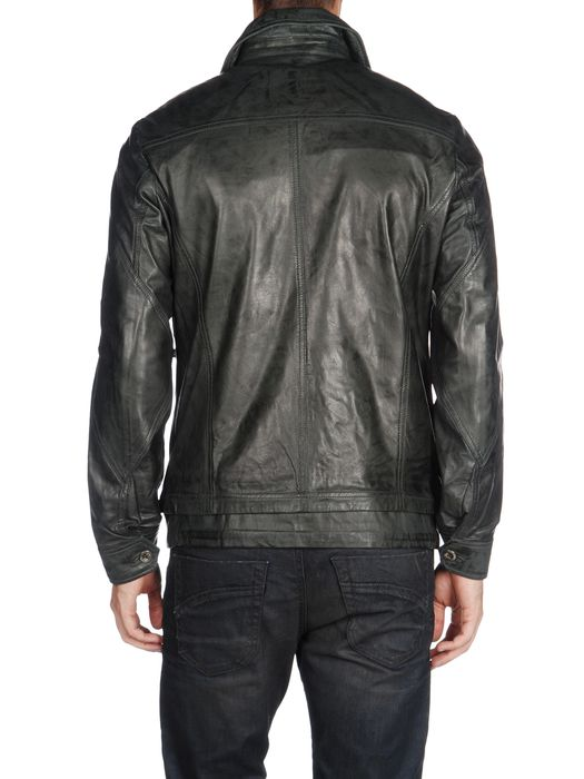 DIESEL L-TELEK Leather jackets U r