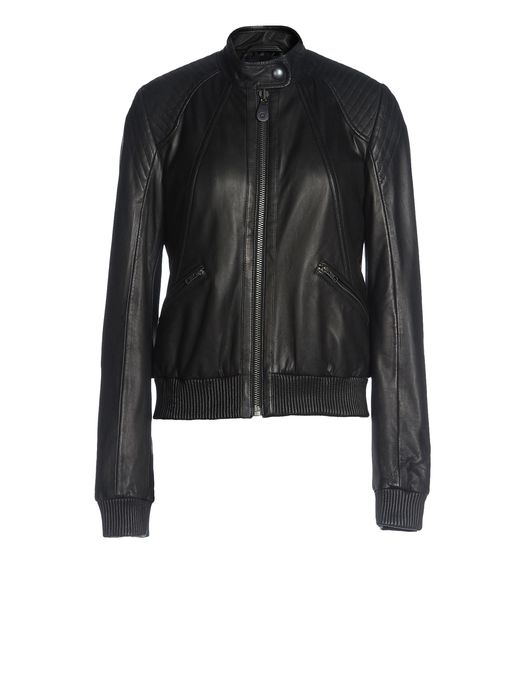 DIESEL BLACK GOLD LAYMAK Leather jackets D f