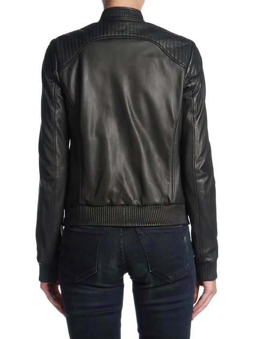DIESEL BLACK GOLD LAYMAK Leather jackets D r