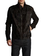 DIESEL BLACK GOLD LIGIO Leather jackets U e