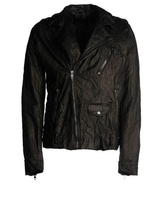 DIESEL BLACK GOLD LERFECTO Leather jackets U f