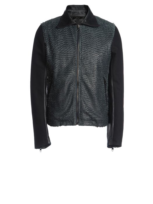 DIESEL BLACK GOLD LARCOTY Leather jackets U f
