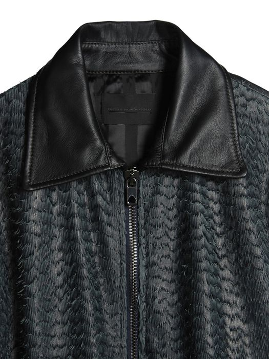 DIESEL BLACK GOLD LARCOTY Leather jackets U d