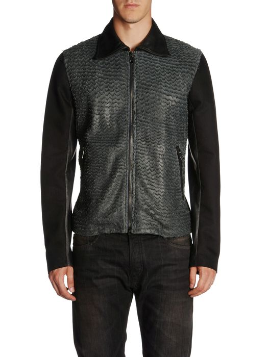 DIESEL BLACK GOLD LARCOTY Leather jackets U e