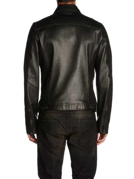 DIESEL BLACK GOLD LARCOTY Leather jackets U r