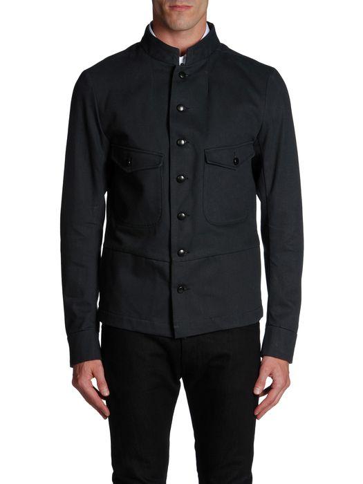 DIESEL BLACK GOLD JIMILITARY-FS Jackets U e