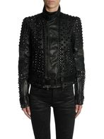 DIESEL BLACK GOLD LINLY Leather jackets D e