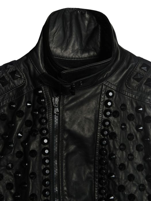 DIESEL BLACK GOLD LINLY Leather jackets D d