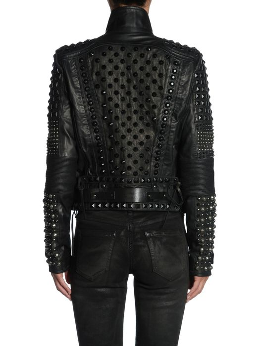 DIESEL BLACK GOLD LINLY Leather jackets D r